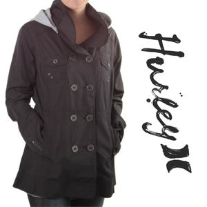 Hurley Winchester Slicker Jacket W/ Removable Hood